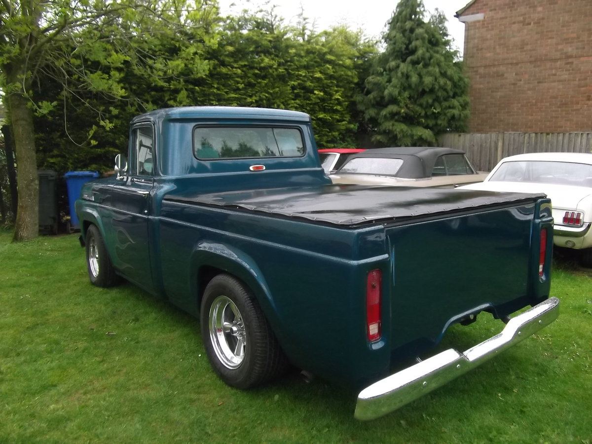 1958-Ford-F100-Pick-Up-Truck-460-7500cc) V8, Automatic SOLD (picture 2 of 6)