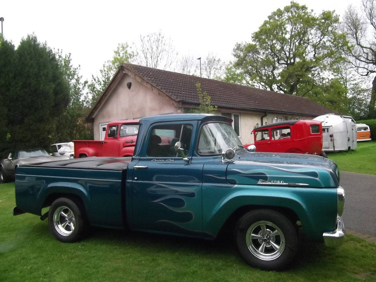 1958-Ford-F100-Pick-Up-Truck-460-7500cc) V8, Automatic SOLD (picture 6 of 6)