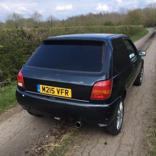 1995 FORD FIESTA Si 1.6 VAN For Sale (picture 4 of 6)