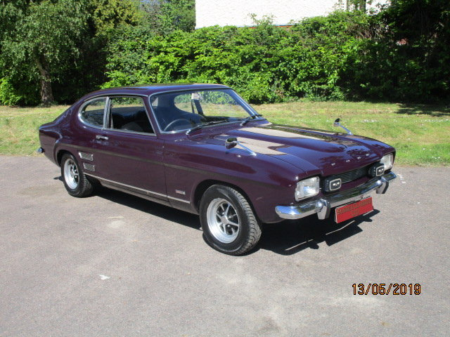 1970 Ford Capri Mk1 3000E (Stunning Example Throughout) For Sale (picture 1 of 6)