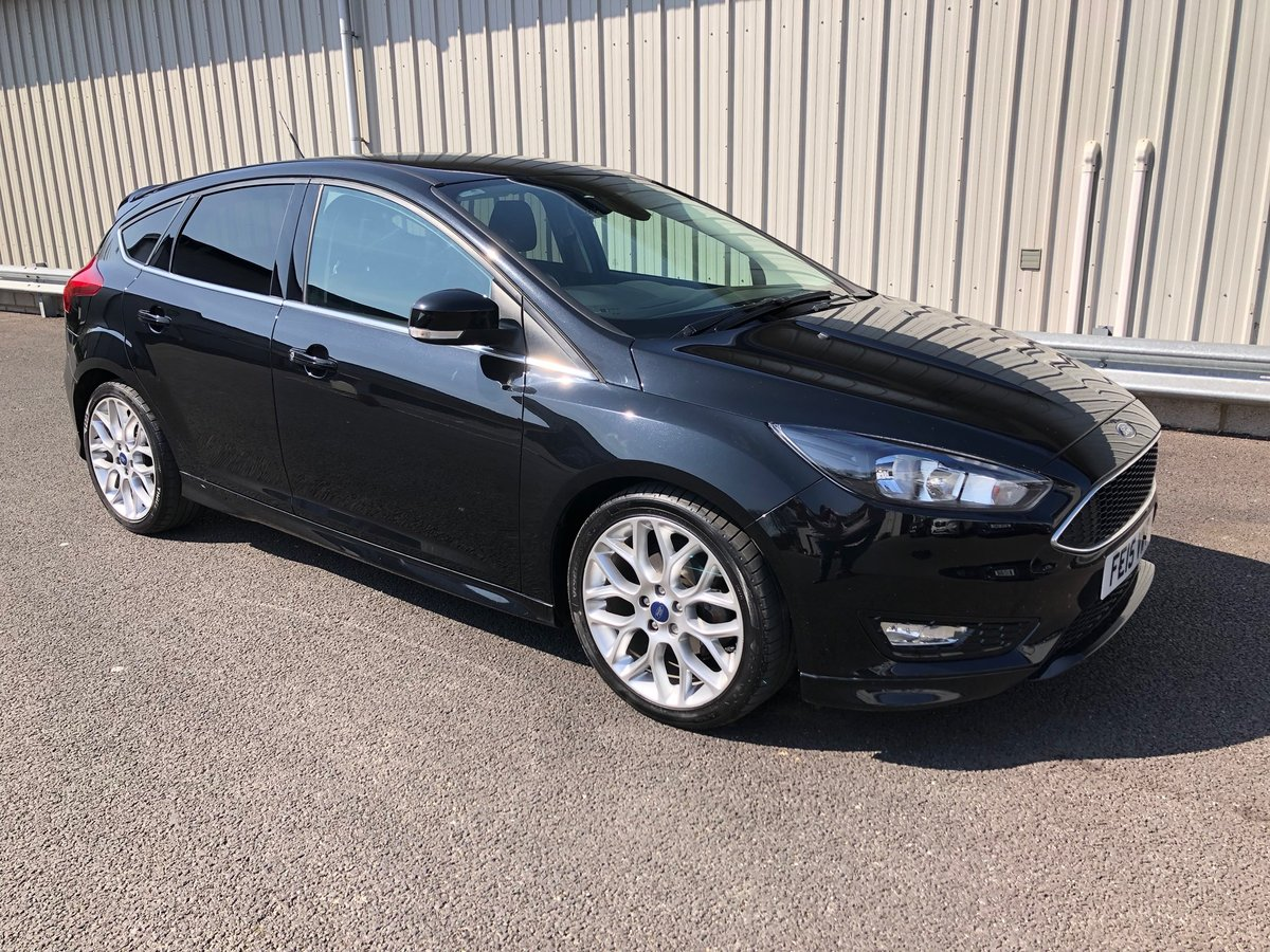 2015 Ford Focus 1 5 Tdci Zetec S 118 Bhp For Sale Car And Classic