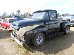 1956 Ford F-1 Pickup Truck = Project 302 Auto U Finish $18.9 For Sale