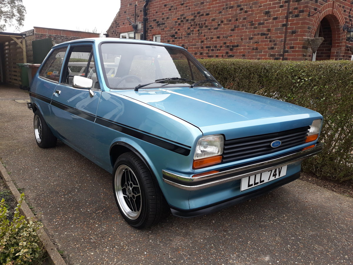 1980 MK1 Ford Fiesta 1.1L SOLD (picture 1 of 6)