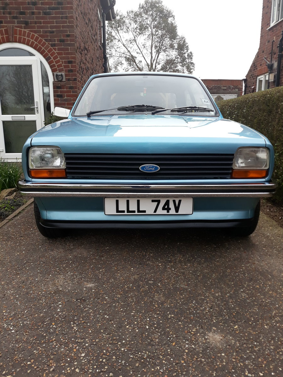 1980 MK1 Ford Fiesta 1.1L SOLD (picture 4 of 6)