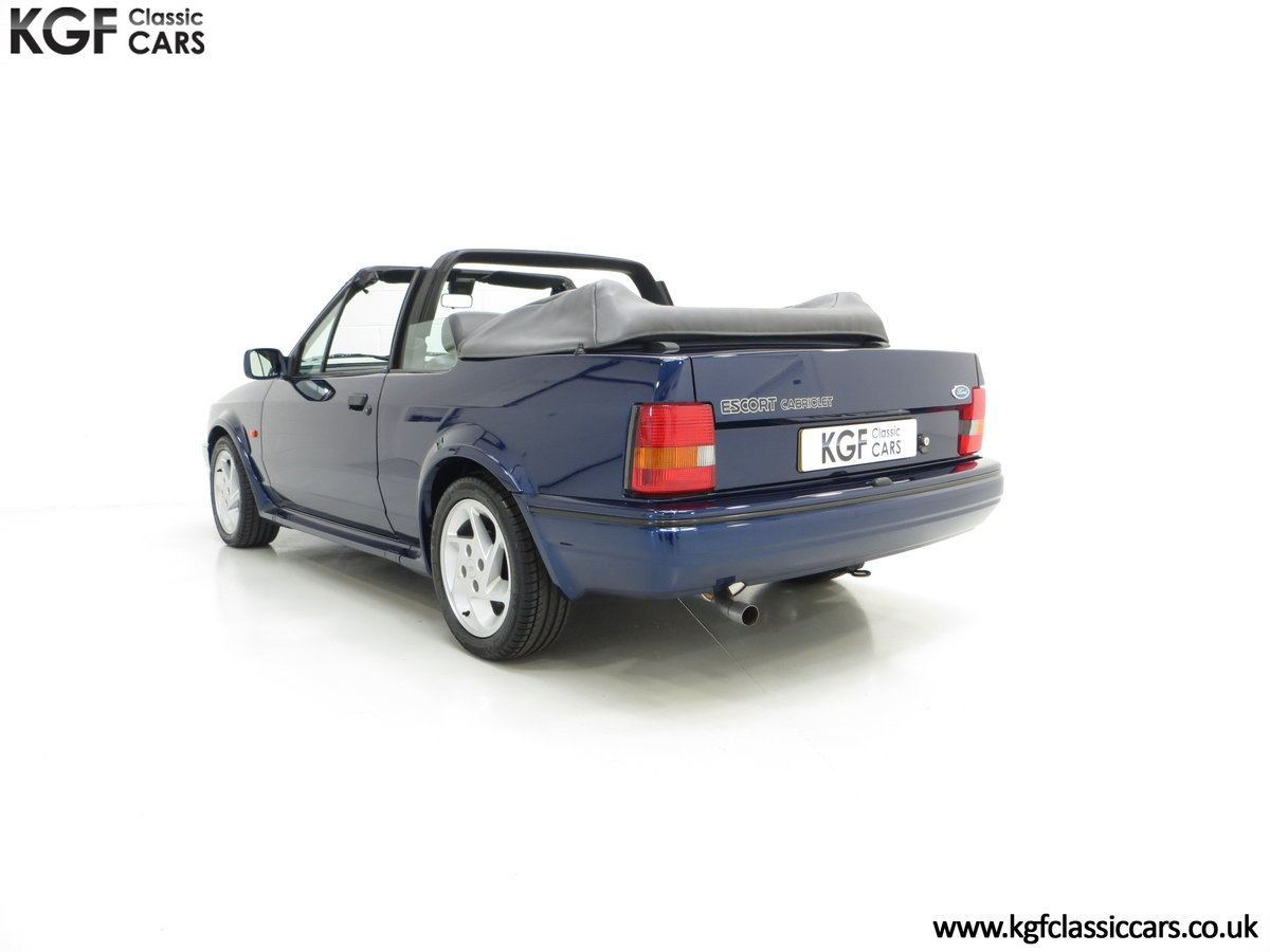 1990 The Special Edition Ford Escort XR3i Cabriolet SOLD (picture 4 of 6)