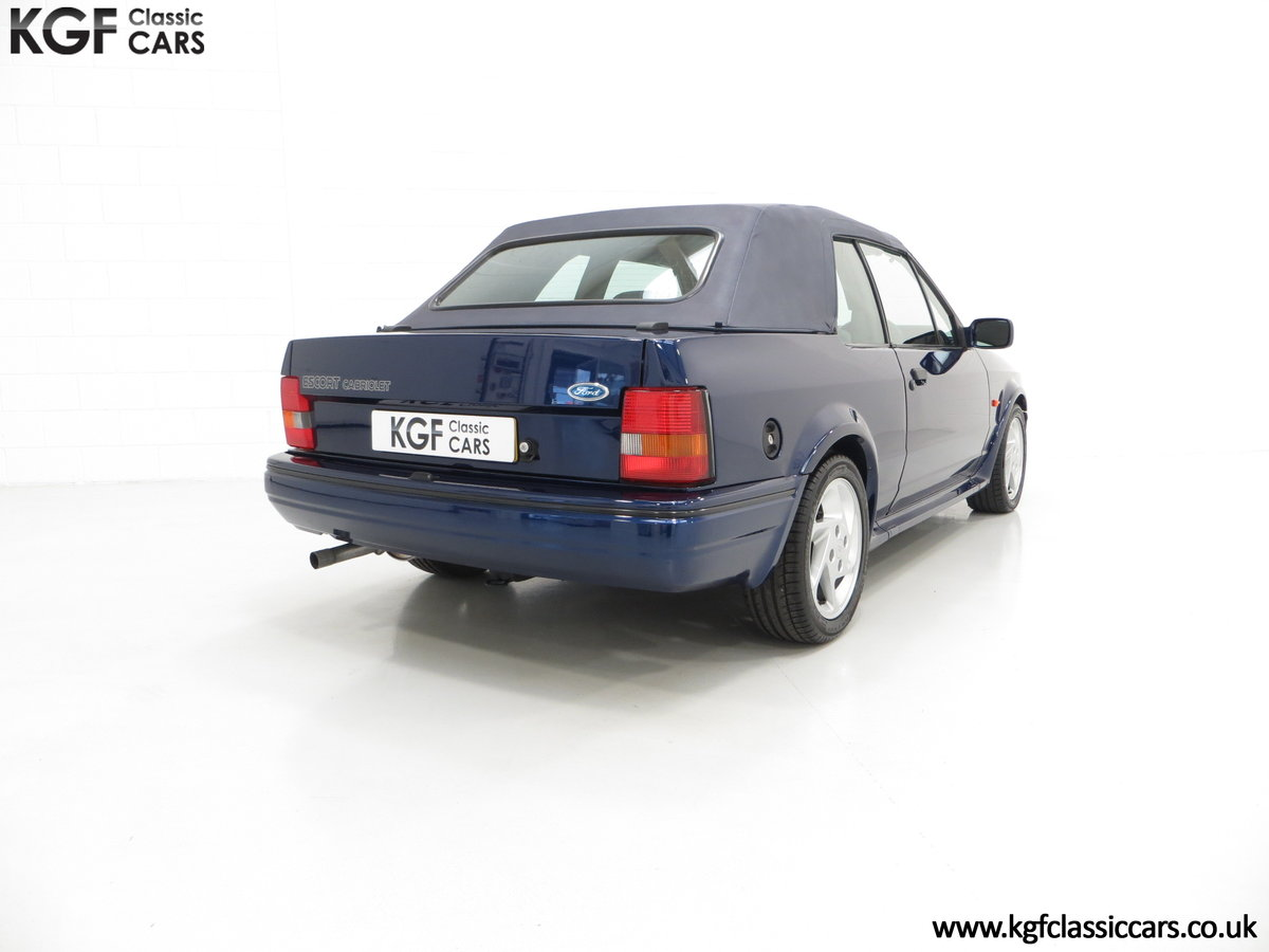 1990 The Special Edition Ford Escort XR3i Cabriolet SOLD (picture 5 of 6)