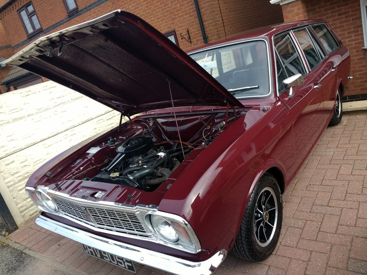 1967 Ford Cortina MK2 Estate Tax/MOT Exempt For Sale (picture 1 of 6)