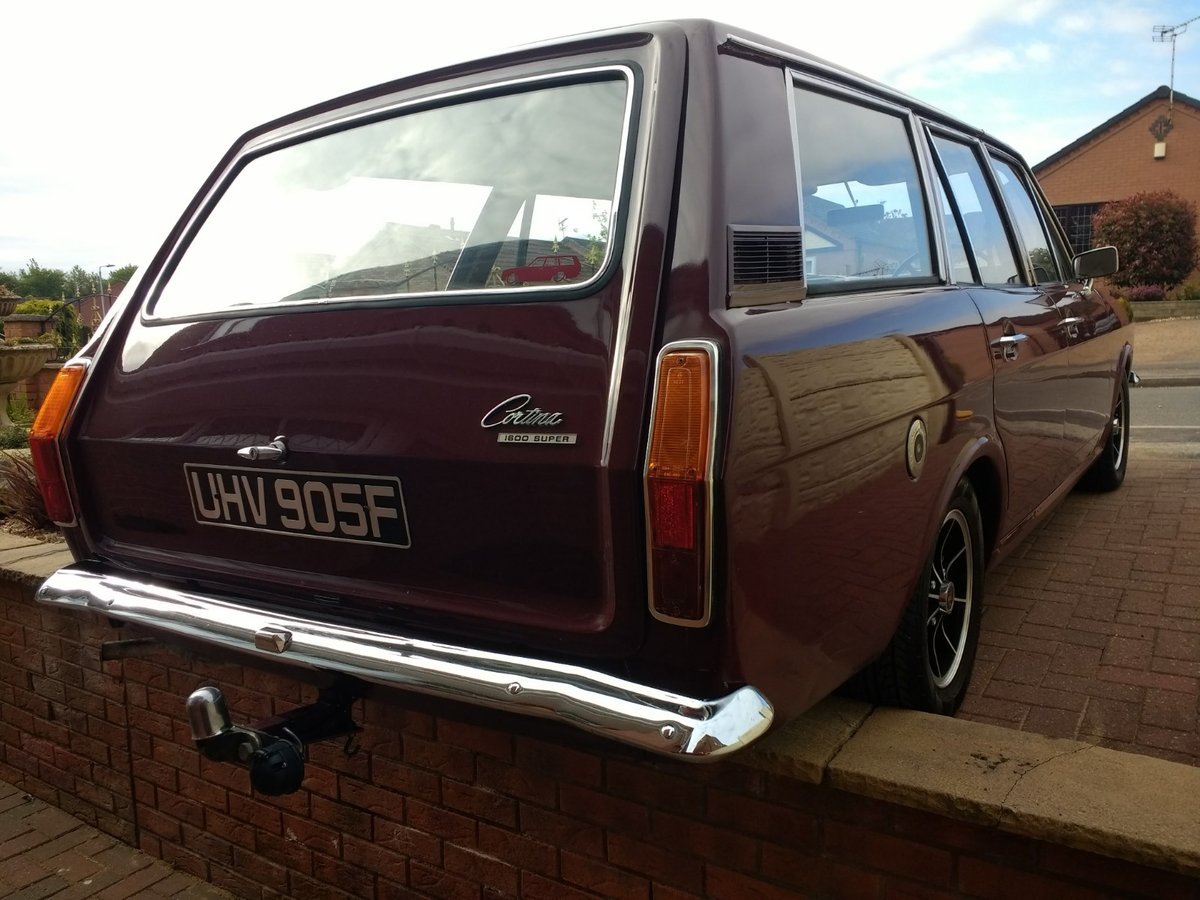 1967 Ford Cortina MK2 Estate Tax/MOT Exempt For Sale (picture 3 of 6)
