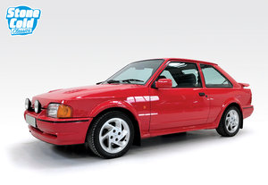 1990 Ford Escort RS Turbo 48k with full history For Sale