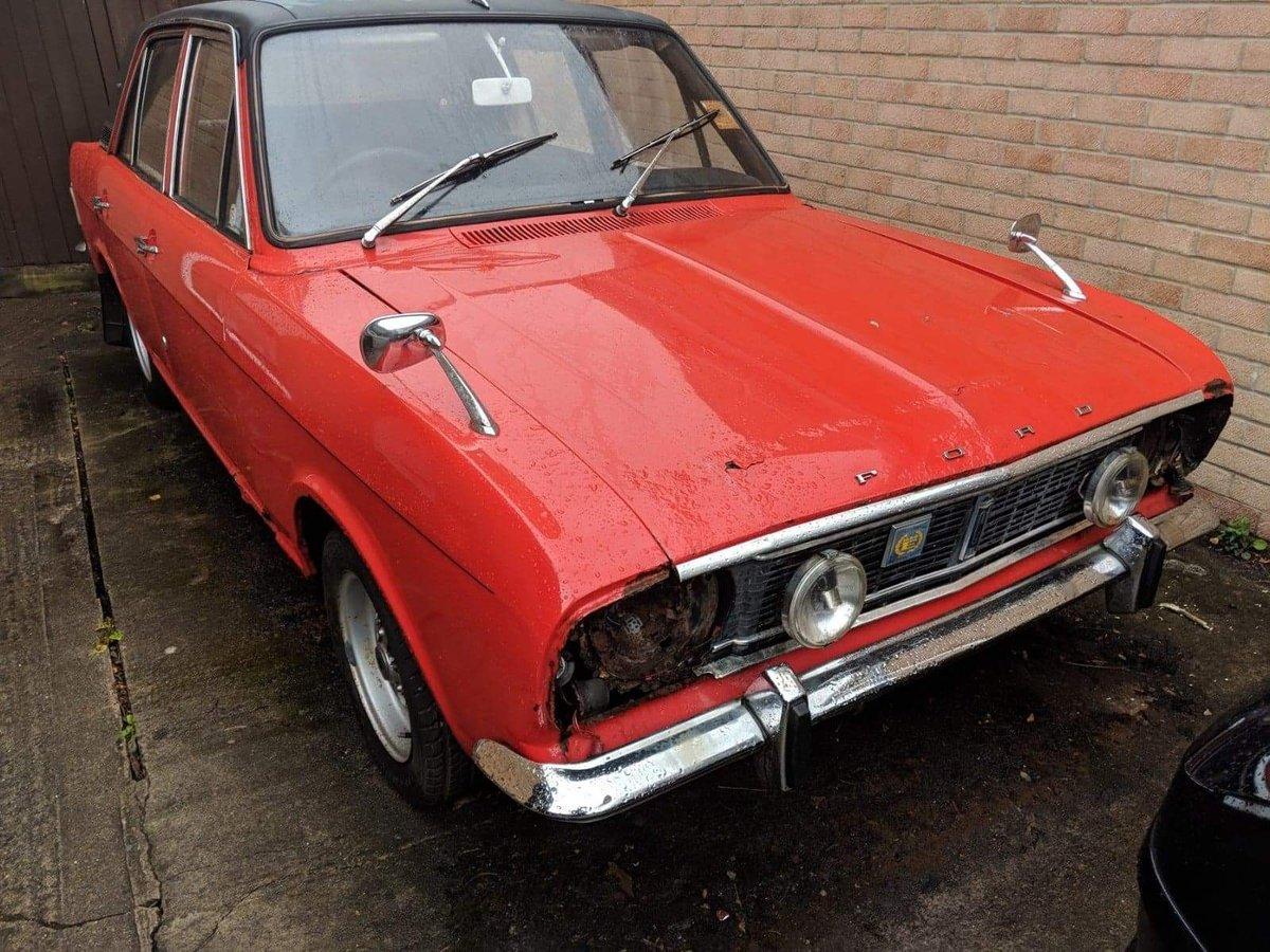 1970 Cortina mk2 1600E For Sale (picture 1 of 6)