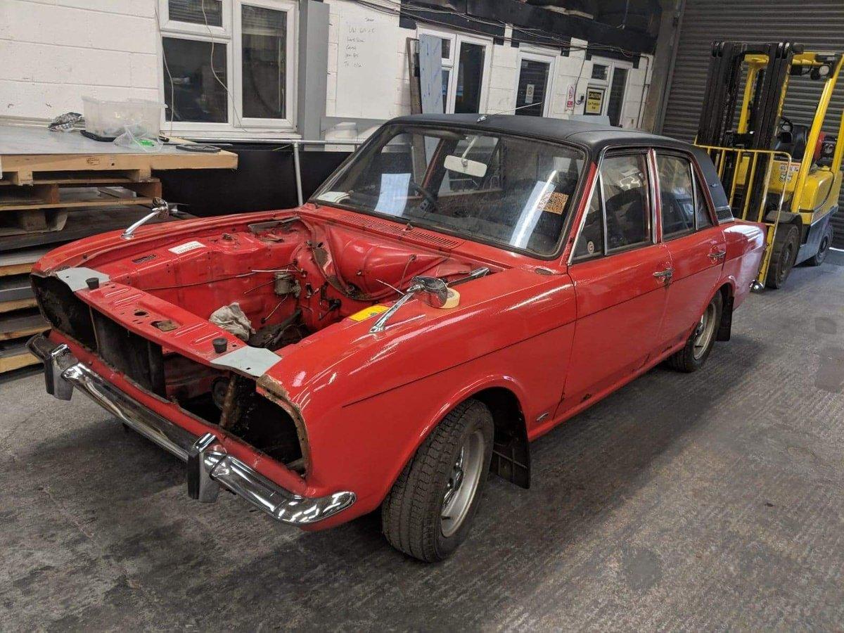 1970 Cortina mk2 1600E For Sale (picture 2 of 6)