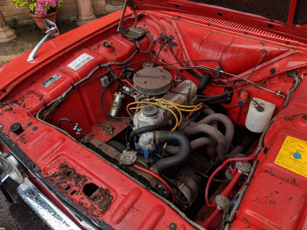 1970 Cortina mk2 1600E For Sale (picture 5 of 6)