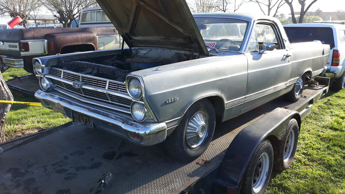 1967 ford ranchero pickup For Sale (picture 1 of 2)