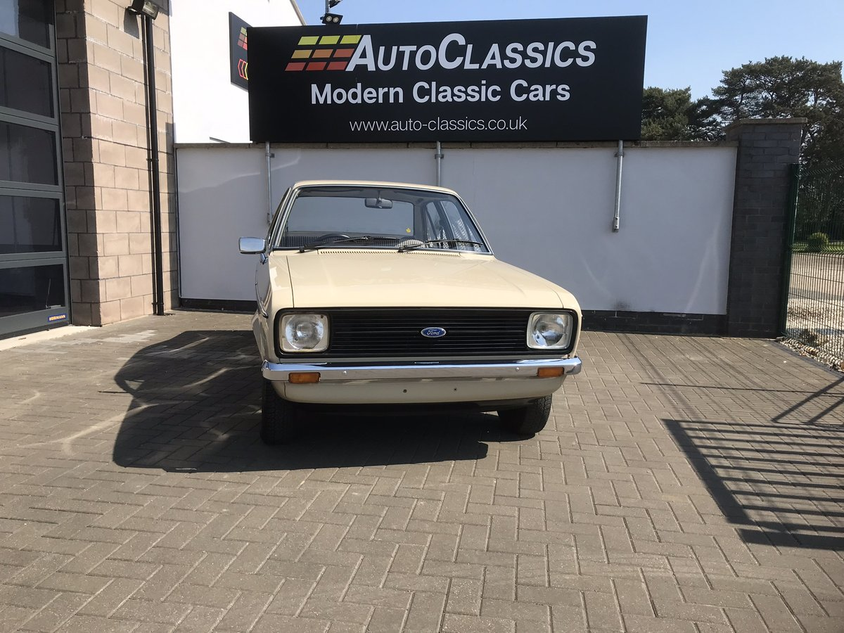 1980 Ford Escort Mk 2 1.3 L 15,000 Miles One Owner For Sale (picture 1 of 6)