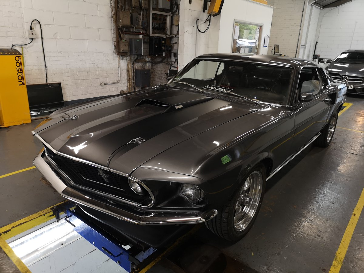 Ford mustang 1969 fastback mach1 m code For Sale (picture 2 of 6)