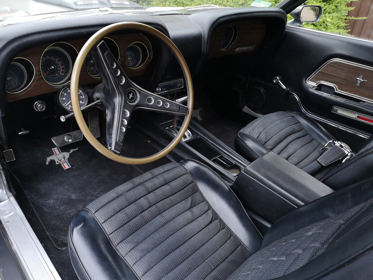 Ford mustang 1969 fastback mach1 m code For Sale (picture 6 of 6)