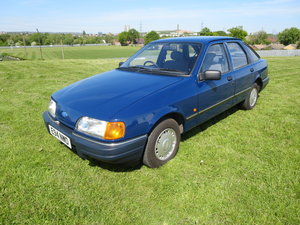 1988 1987 ford sierra 1.6 L Galaxy Blue
