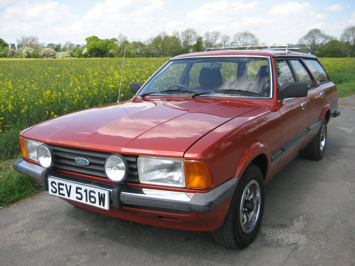 1980 Ford Cortina Estate 2.0GLS 47000 mls only For Sale (picture 1 of 6)