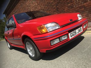 1990 Ford Fiesta XR2i in show winning condition