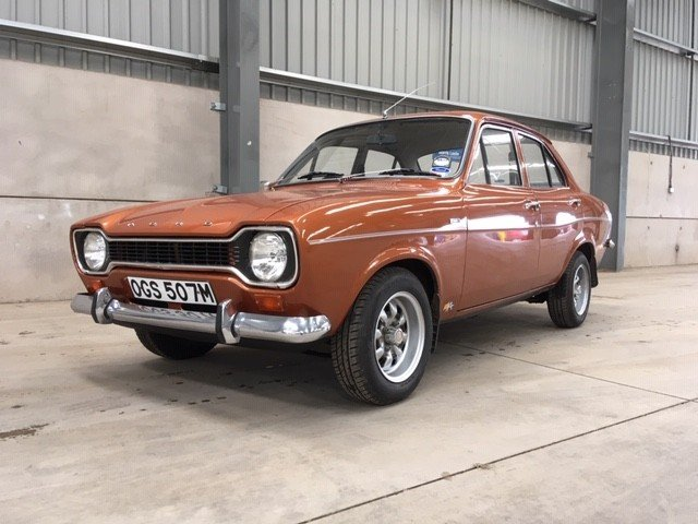 1974 Ford Escort 1300 L at Morris Leslie Auction 25th May SOLD by Auction (picture 1 of 6)