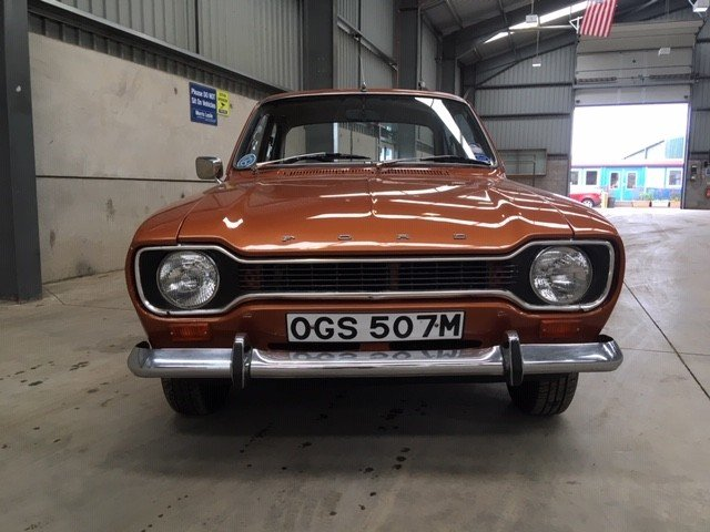 1974 Ford Escort 1300 L at Morris Leslie Auction 25th May SOLD by Auction (picture 3 of 6)