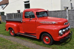 Lot 9 - A 1952 Ford F1 V8 pickup deluxe - 23/06/2019 For Sale by Auction