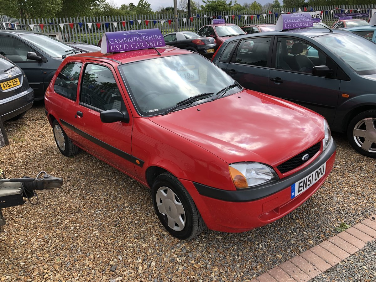 2001 Ford Fiesta 1.3 Fun 5dr For Sale (picture 3 of 6)