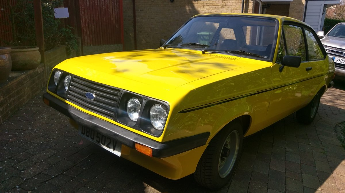 1979 Rare Base Model Mk2 Escort RS2000 SOLD (picture 1 of 6)