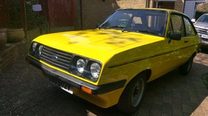 1979 Rare Base Model Mk2 Escort RS2000 For Sale