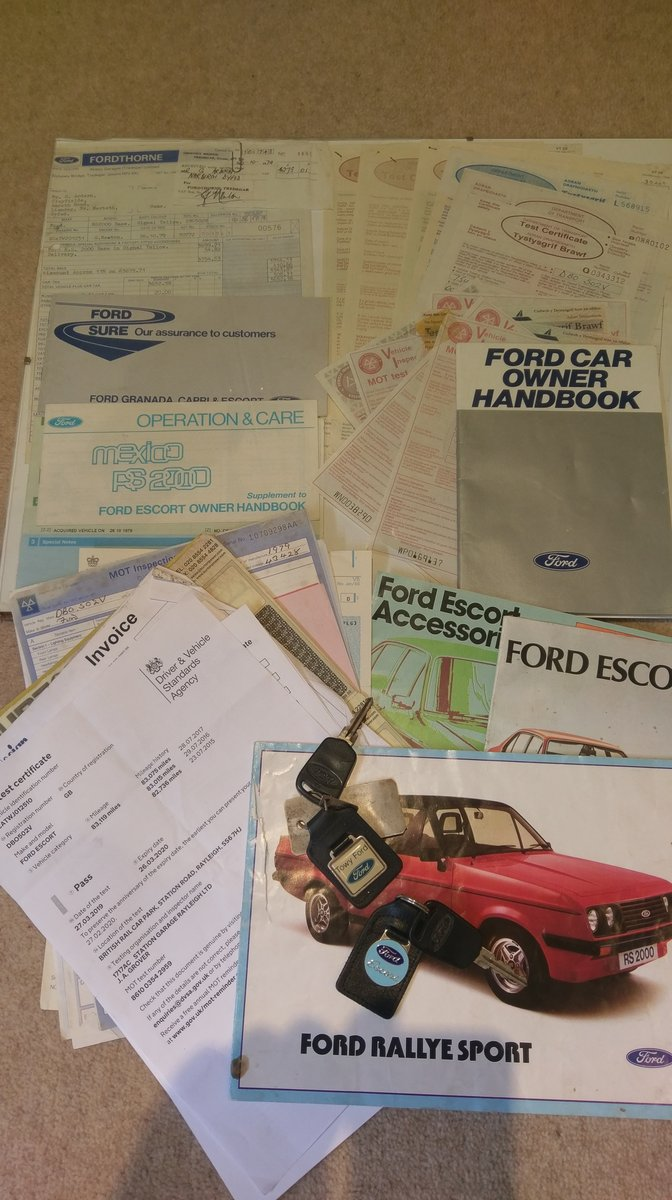 1979 Rare Base Model Mk2 Escort RS2000 SOLD (picture 6 of 6)