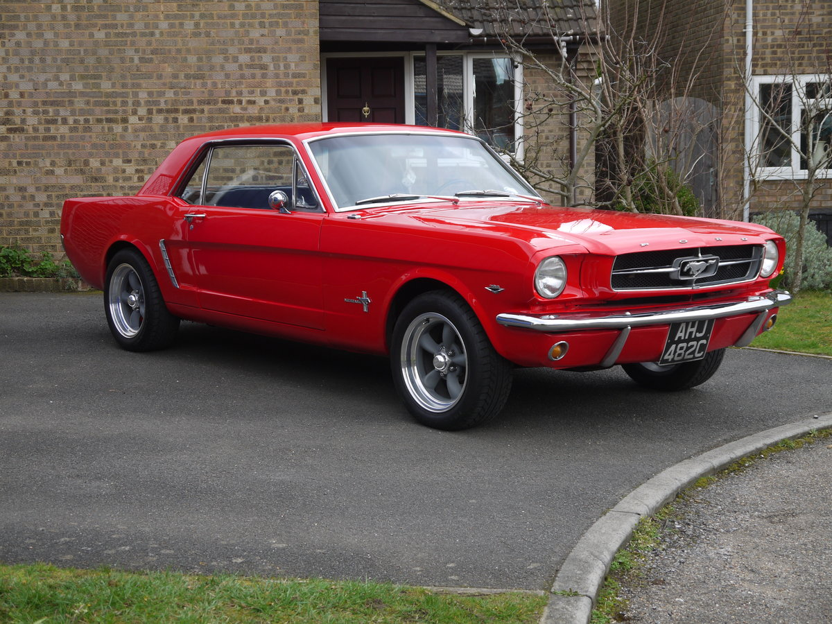 1965 Mustang Coupe - 4 Speed Manual For Sale (picture 1 of 6)