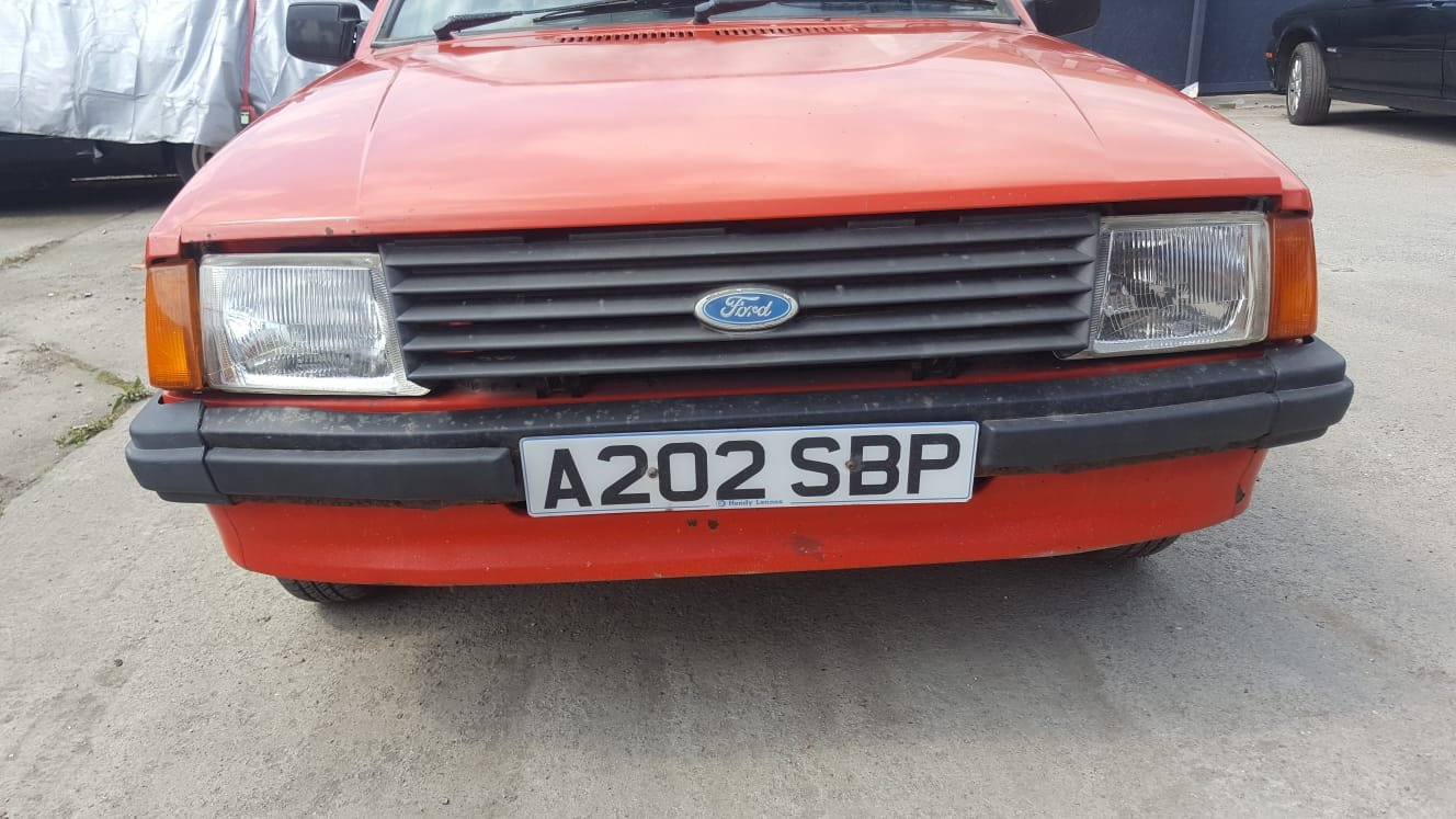 1984 Ford escort mk3 1.6 convertable For Sale (picture 3 of 6)