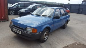 1987 Ford escort 1.3 ohv 4 door blue For Sale