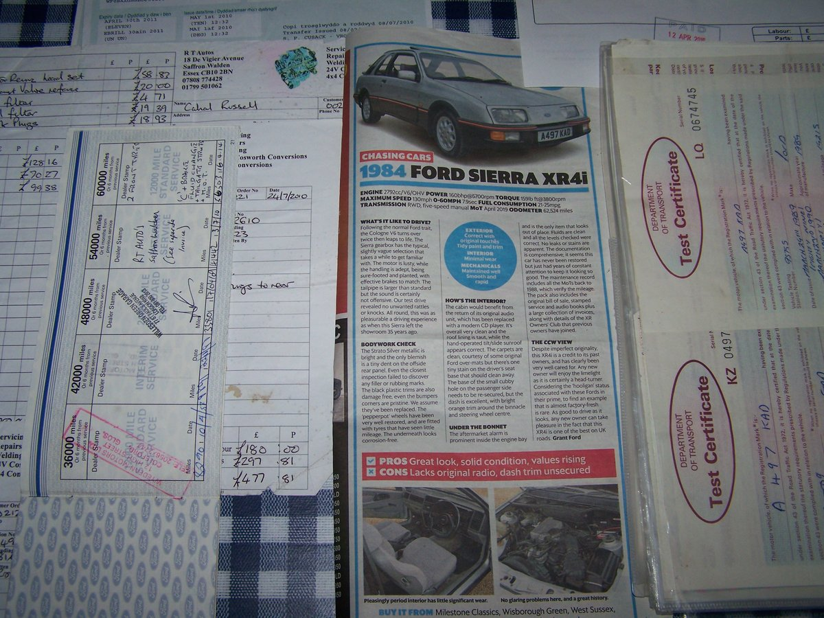 1984 FORD SIERRA XR4I For Sale (picture 4 of 5)