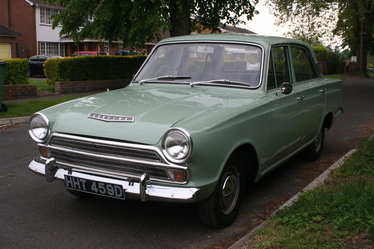 1966 MK1 Ford Cortina 1500 Deluxe For Sale (picture 2 of 6)