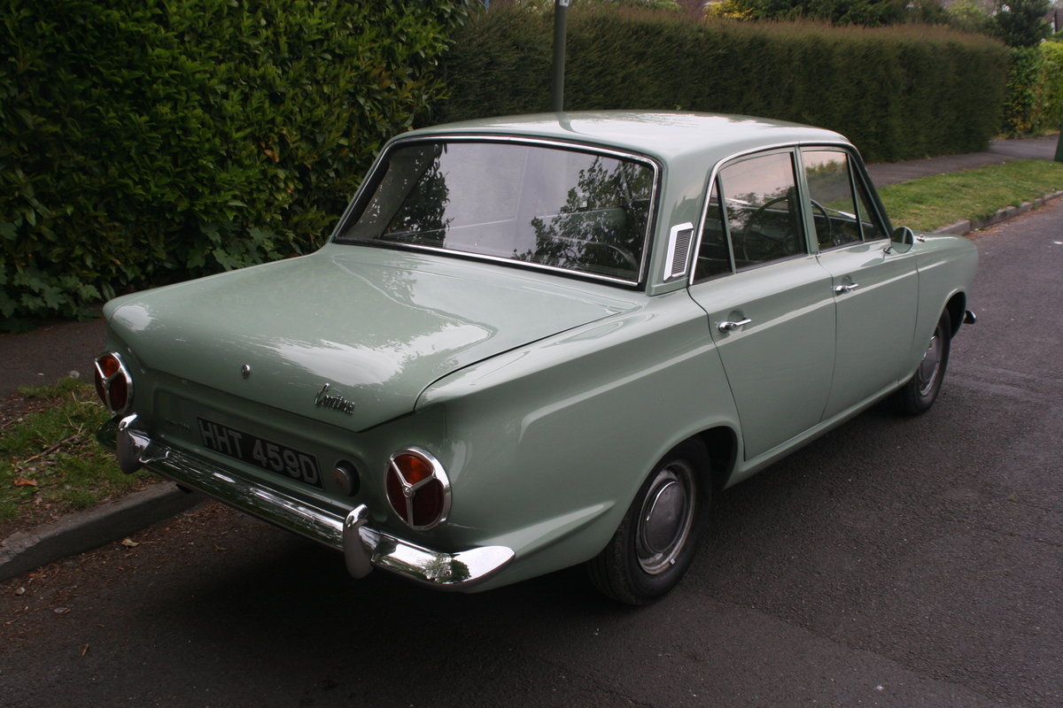 1966 MK1 Ford Cortina 1500 Deluxe For Sale (picture 3 of 6)