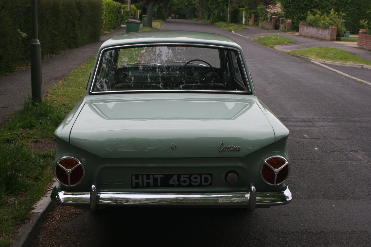 1966 MK1 Ford Cortina 1500 Deluxe For Sale (picture 4 of 6)