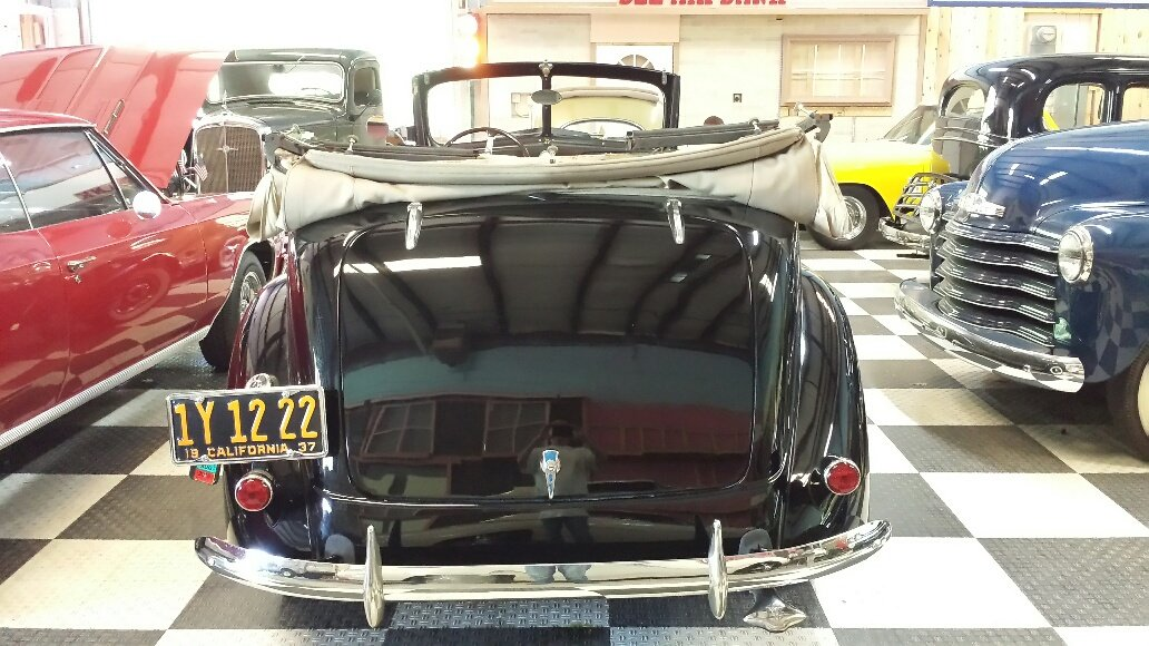 1937 Ford Series 78 Convertible Brilliant For Sale (picture 3 of 6)