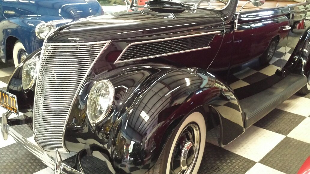 1937 Ford Series 78 Convertible Brilliant For Sale (picture 6 of 6)
