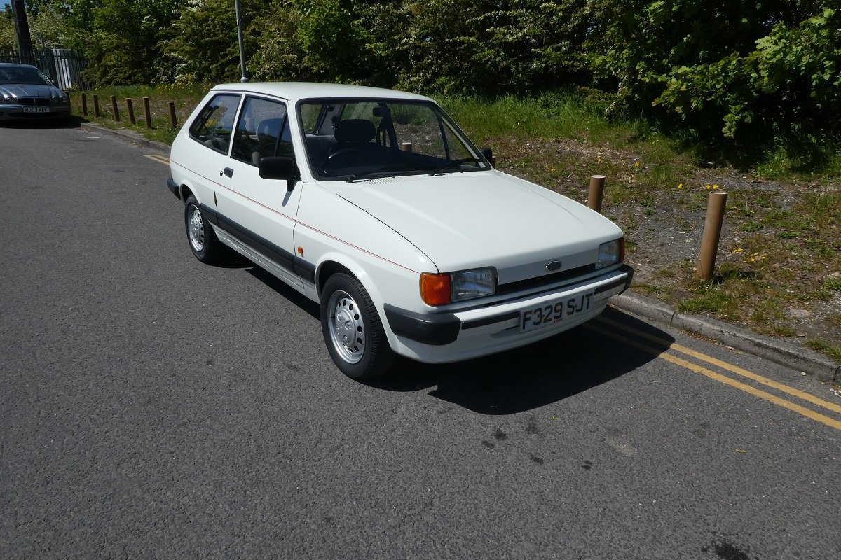 Ford Fiesta L 1988 - To be auctioned 26-07-19 For Sale by Auction (picture 1 of 6)