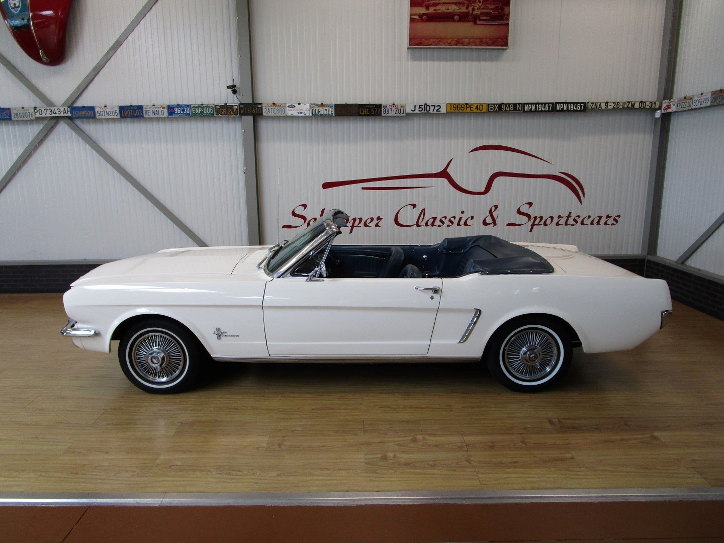 Ford Mustang 200CU Automatic Cabrio Early model 1964 1/2 For Sale (picture 2 of 6)