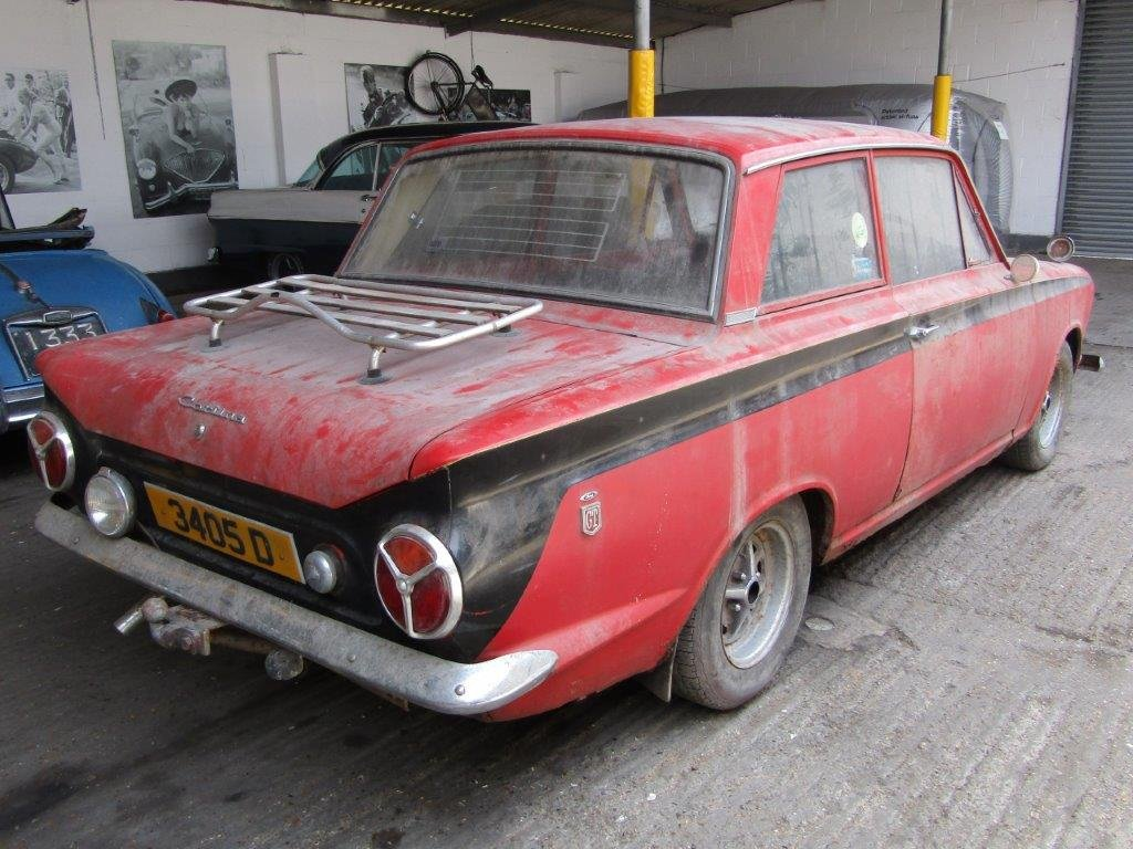 1964 Ford Consul 1500 GT 2 door at ACA 15th June  For Sale (picture 4 of 6)
