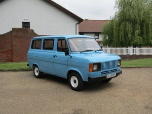 1983 Ford Transit 2.0 Minibus MKII at ACA 15th June  For Sale
