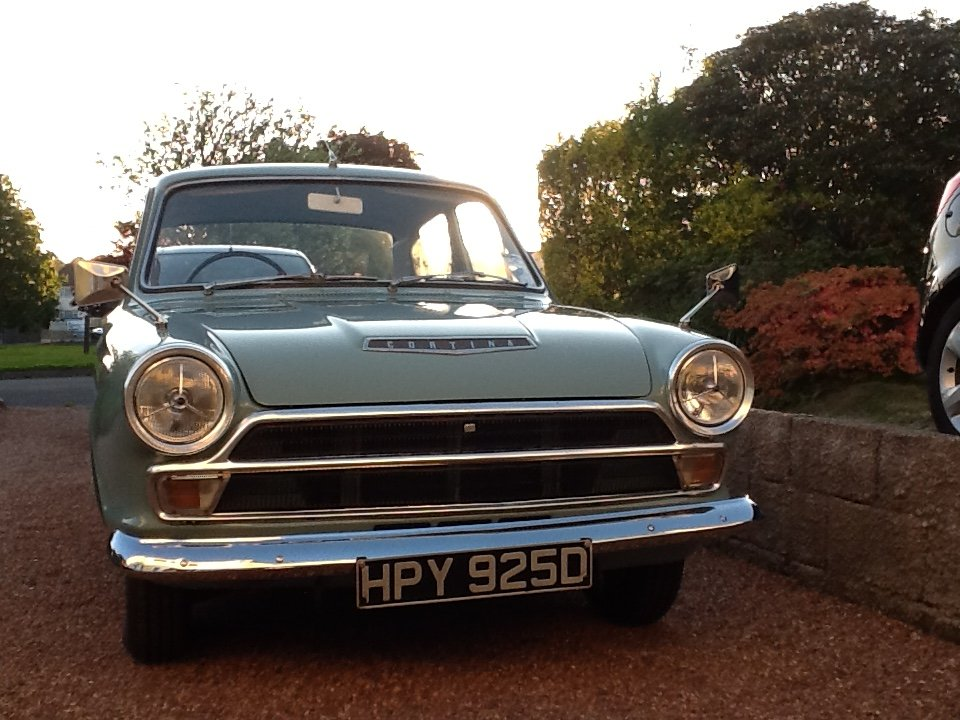 1966 Ford Cortina mk1 for sale For Sale (picture 1 of 6)