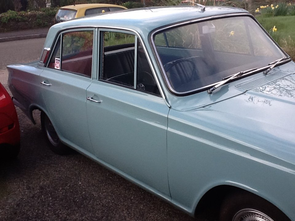 1966 Ford Cortina mk1 for sale For Sale (picture 4 of 6)