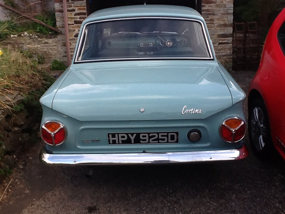 1966 Ford Cortina mk1 for sale For Sale (picture 6 of 6)