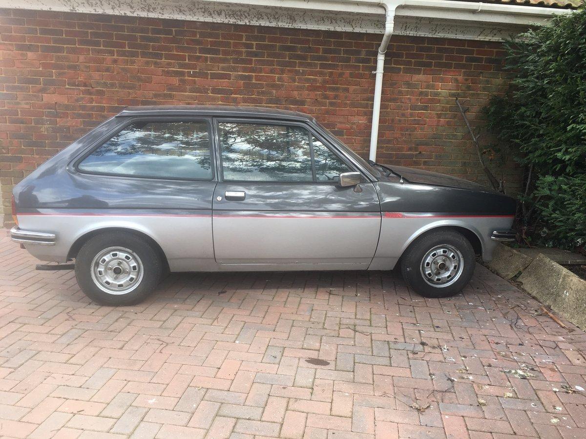 1981 Fiesta 1.1 Bravo Mk1 For Sale SOLD (picture 1 of 4)