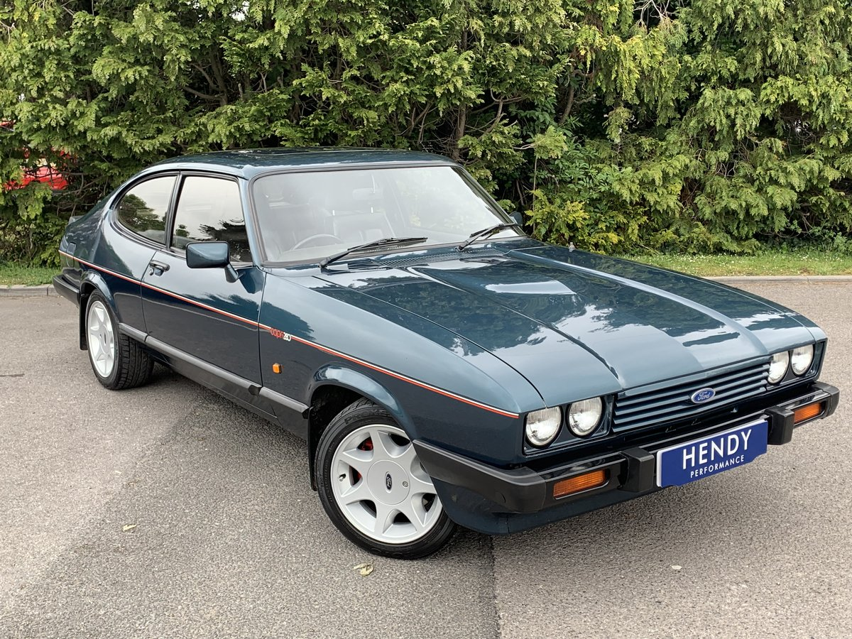 1988 Ford Capri 280 Brooklands  For Sale (picture 1 of 6)