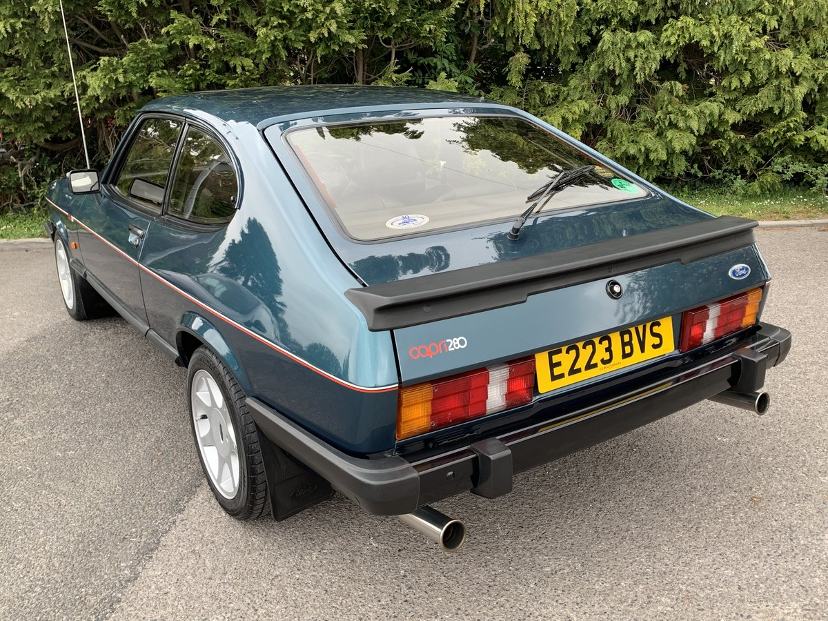 1988 Ford Capri 280 Brooklands  For Sale (picture 3 of 6)