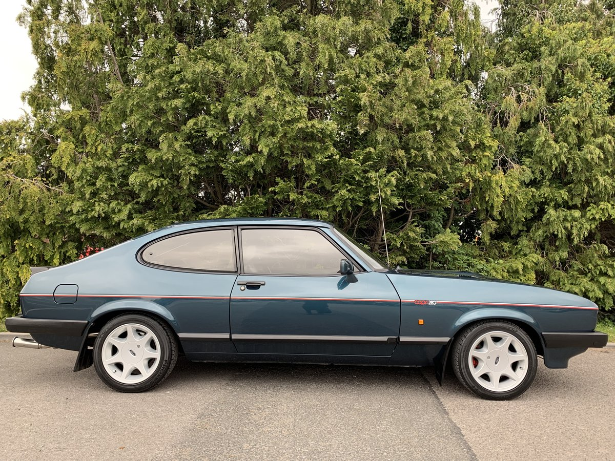 1988 Ford Capri 280 Brooklands  For Sale (picture 4 of 6)